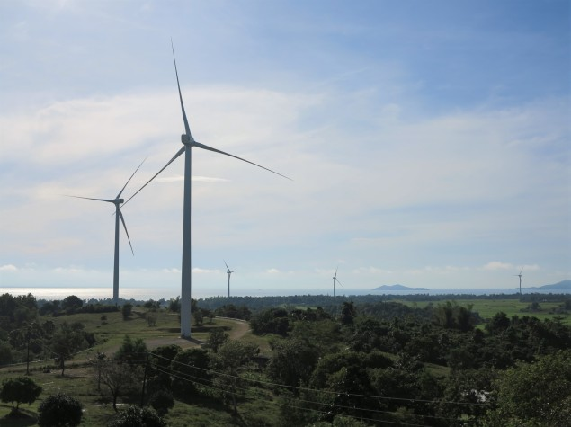 The San Lorenzo windmills provide electricity to some parts of the province.