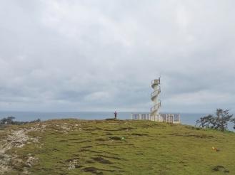 The pighthouse atop the Nagudungan Hill!