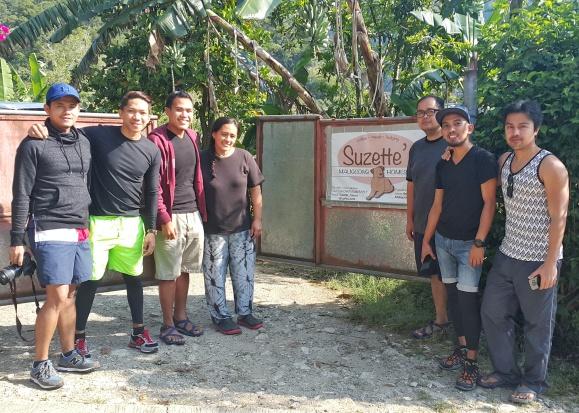 Team Puge with Ate Suzette