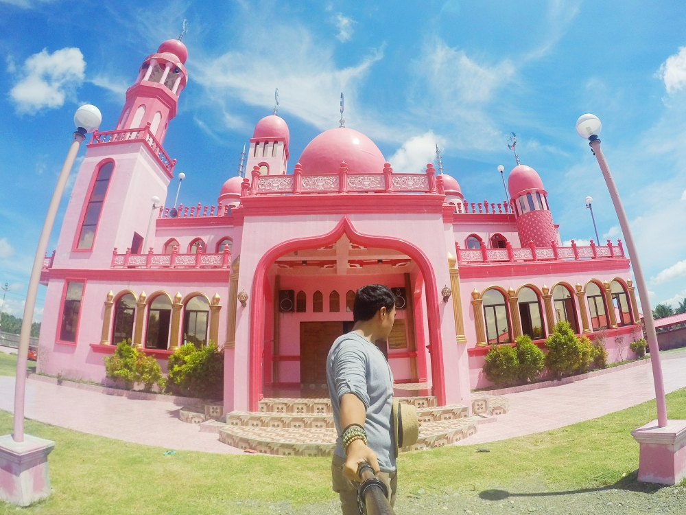 The Pink Mosque of Maguindanao