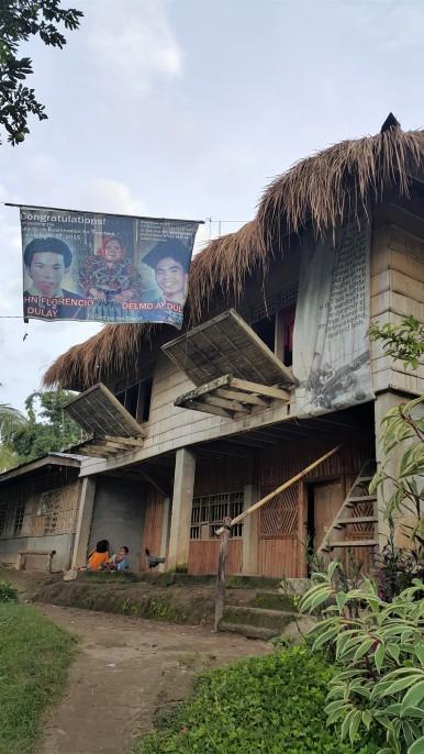 The late Lang Dulay's workshop at the Manlilikha ng Bayan Center in Sitio Tukolefa, Lamdalag, Lake Sebu