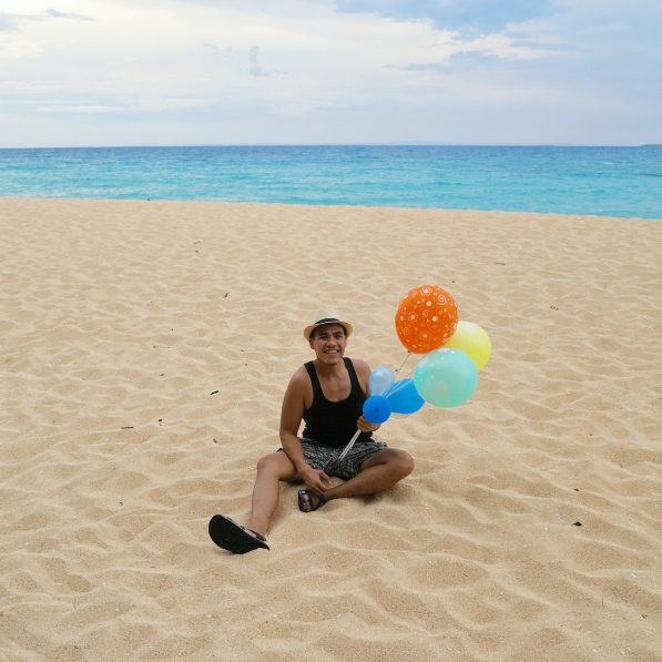 Did I forget to mention that I spent my pre-birthday gala here in Jomalig? Yes, I did! :-D