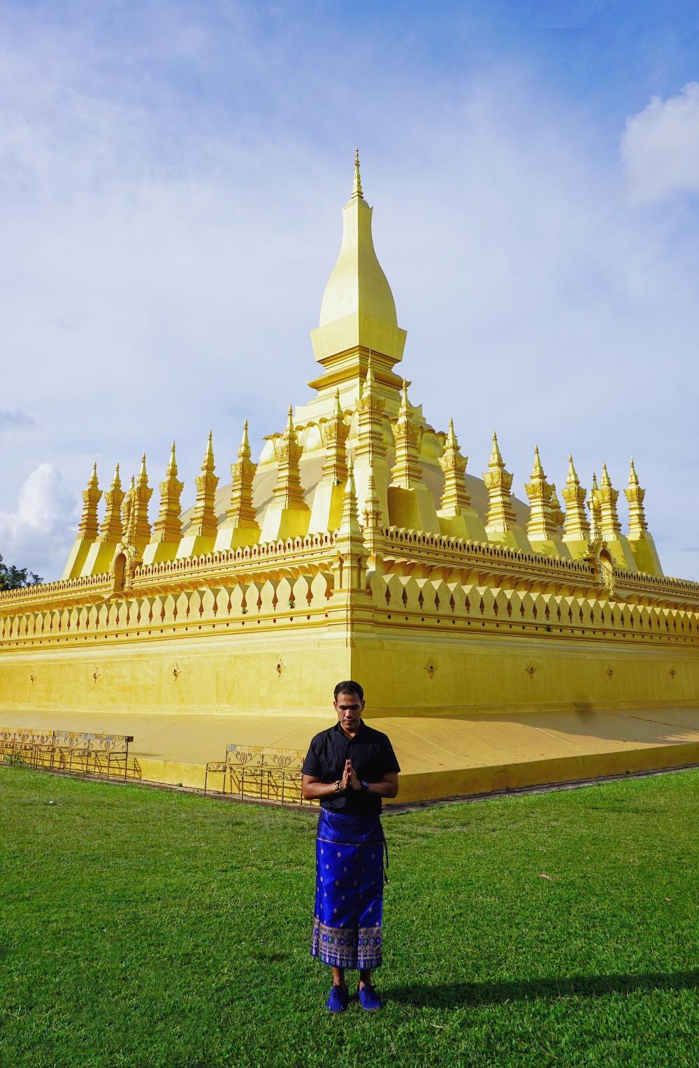 Exploring Vientiane