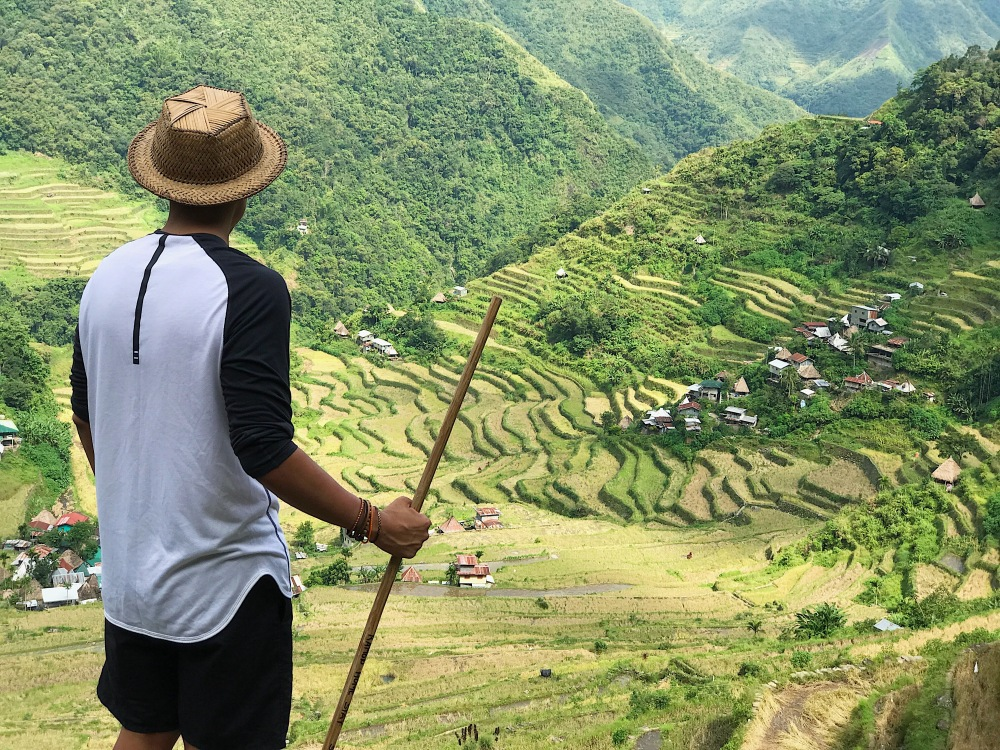 My turn to be awed by Batad's magnificent rice terraces