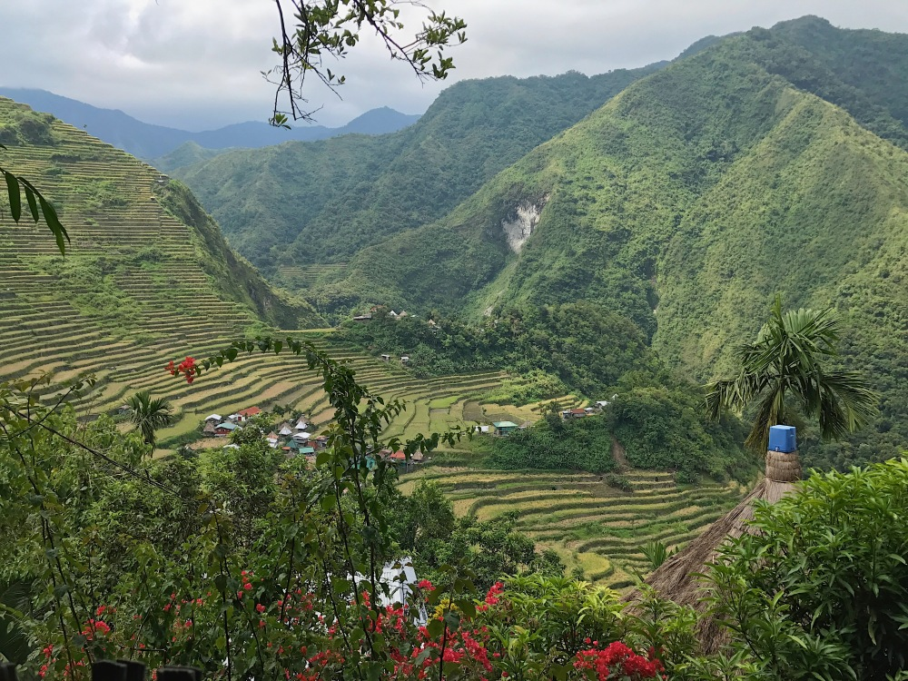 The beautiful Batad Rice Terraces