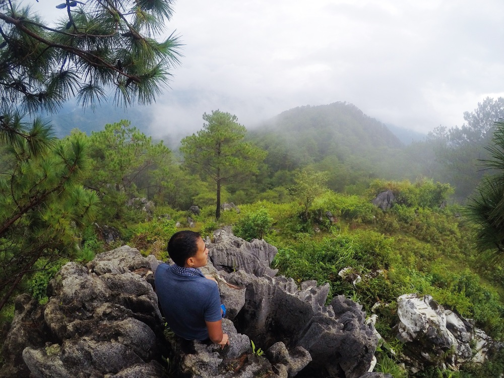 Atop Mt. Parutan (Mt. Fato)