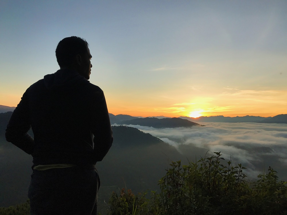 Sunrise in Sagada!