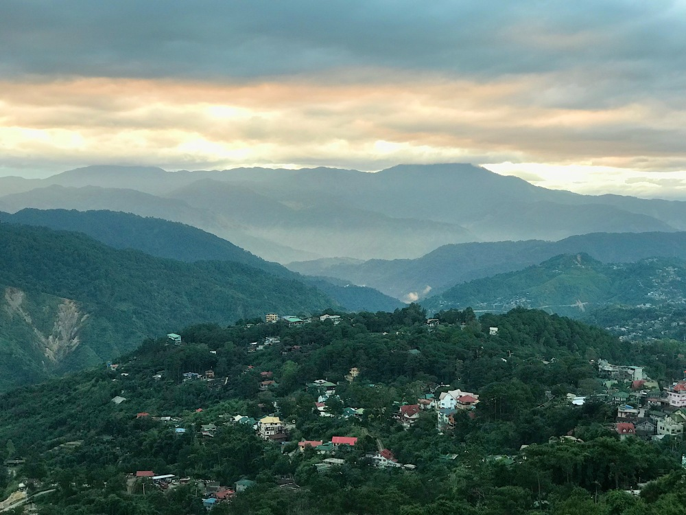Sunrise in Baguio!