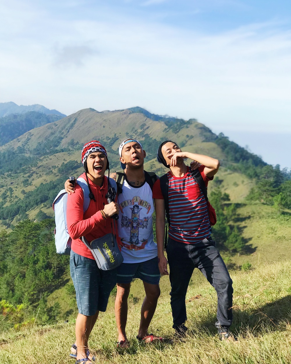Three shembots in Mt. Ulap!
