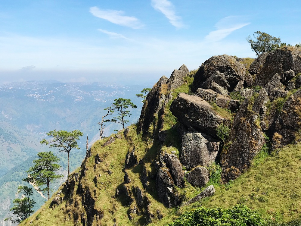 The most popular site in Mt. Ulap is its second peak called GUNGAL ROCK.