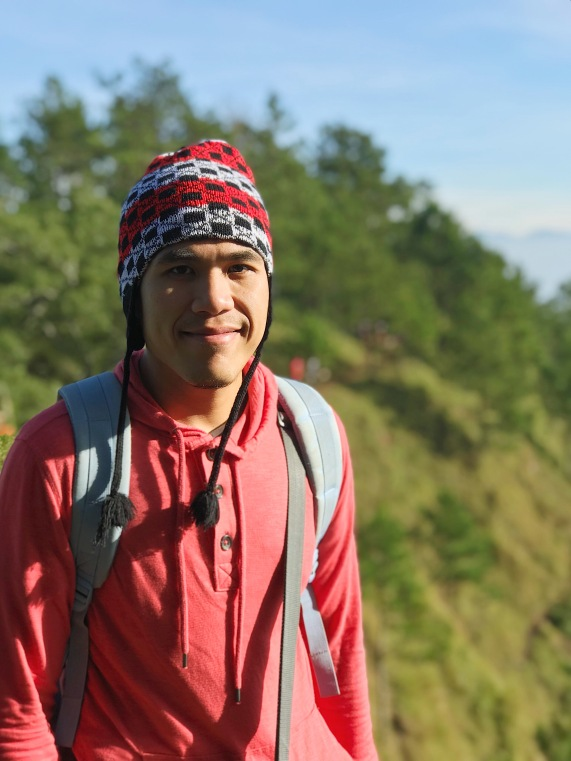 Portrait shot in Mt. Ulap.