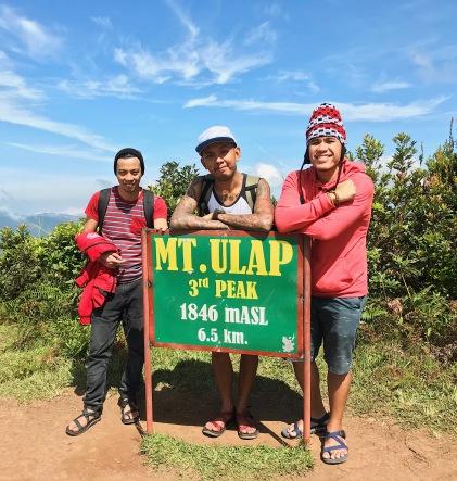 Third peak!