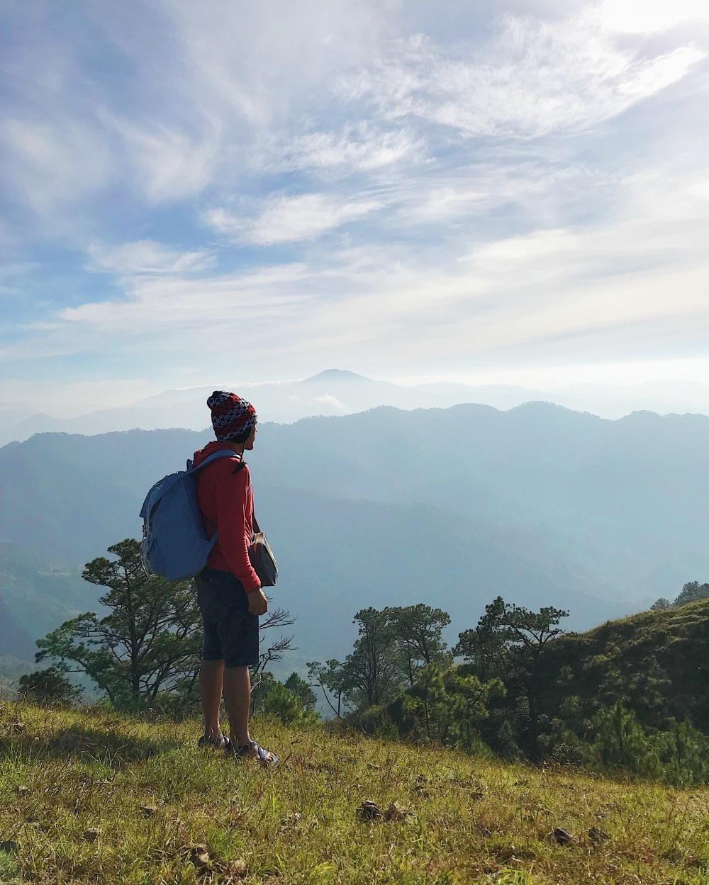 Reflecting in Benguet