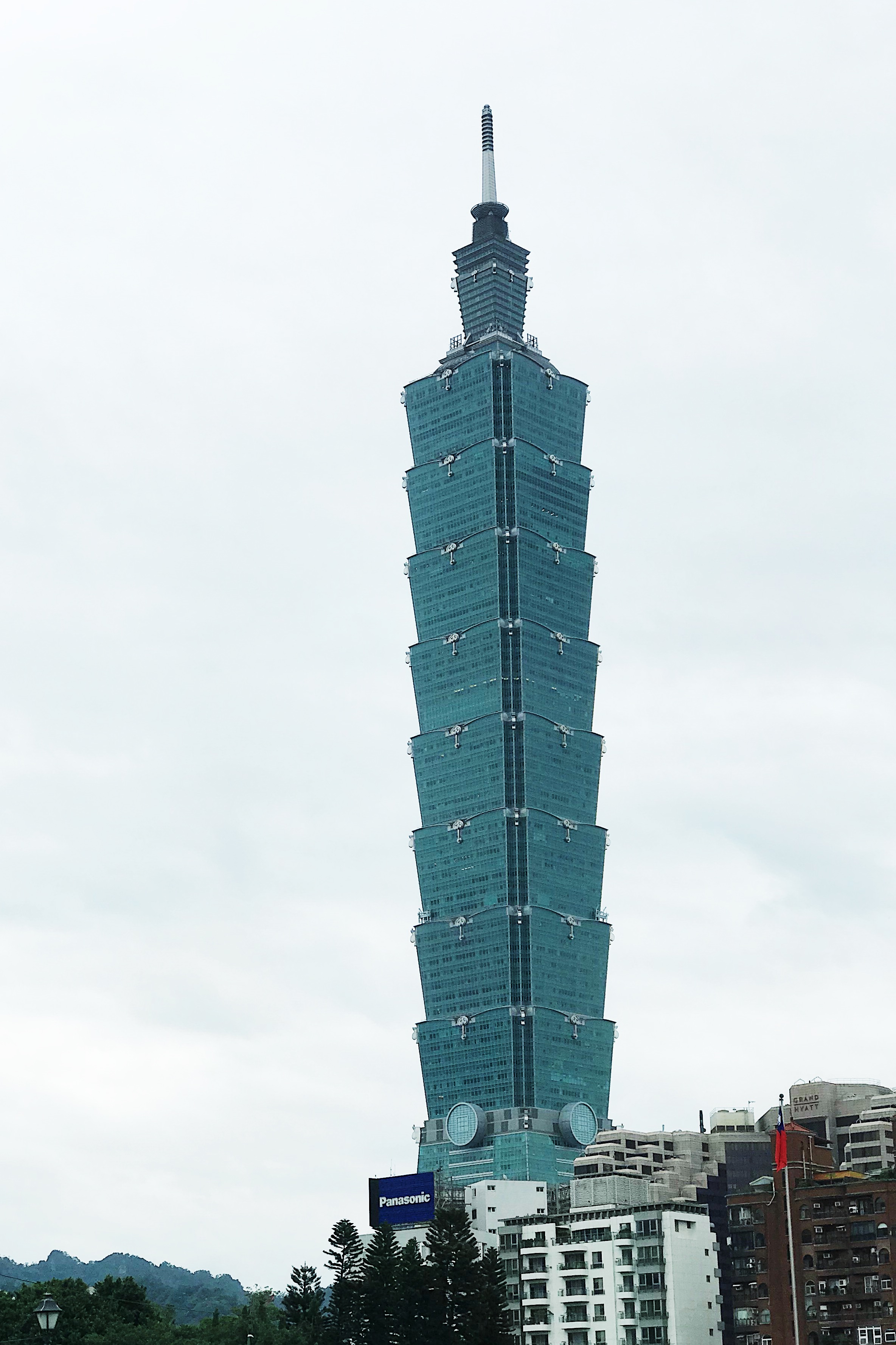 TAIPEI 101. This is the tallest structure that you would see in this side of Asia.