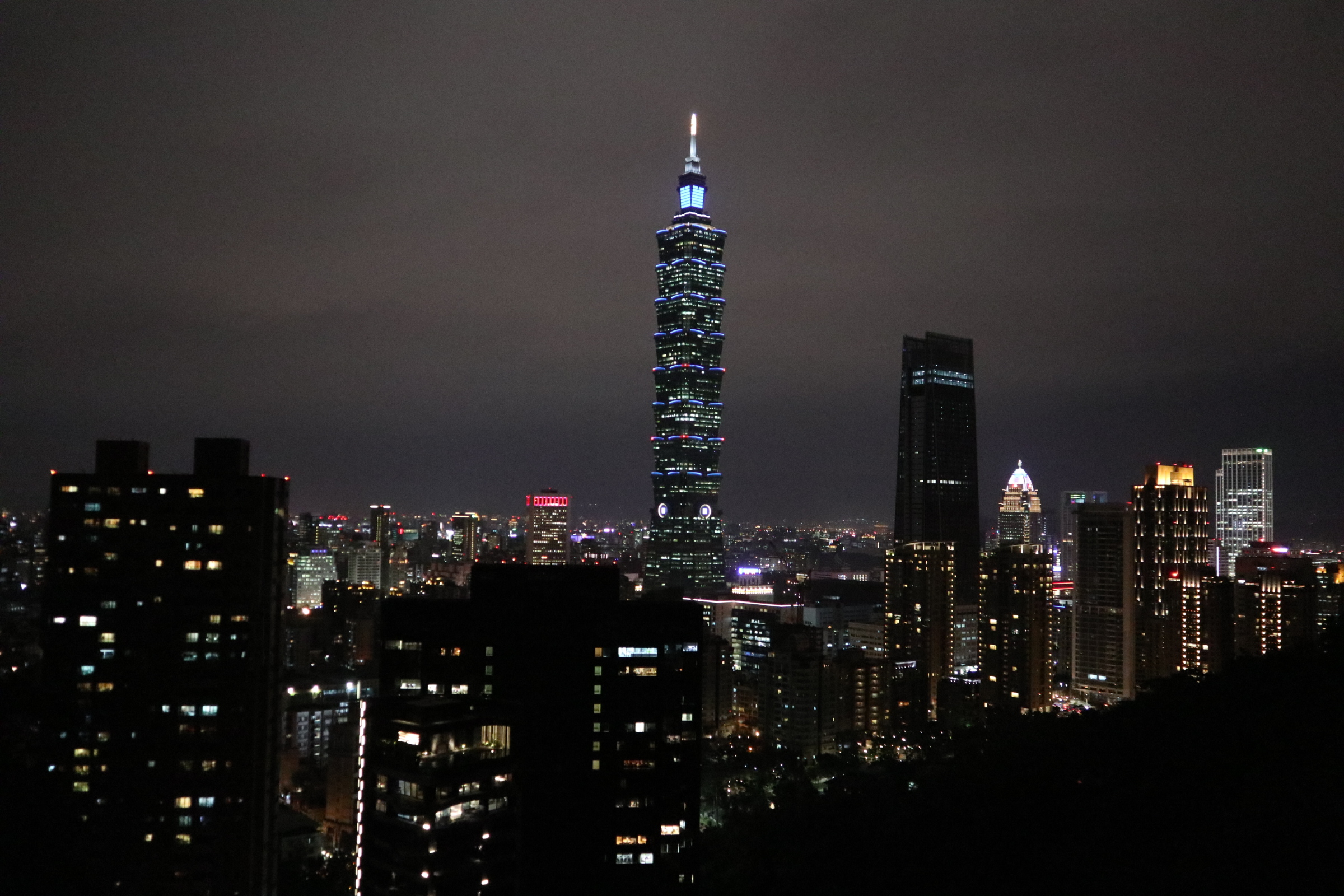 Taipei 101 as seen from the Elephant Mountain!