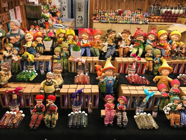 COLORFUL TOYS. Children's toys seem not to run out here in Jiufen Old Street.