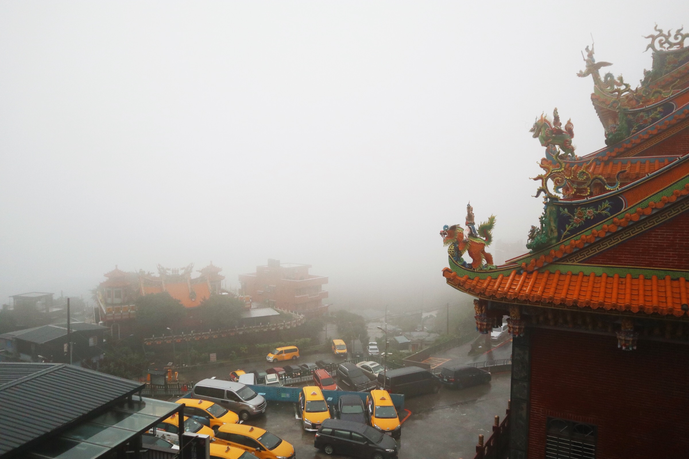 SPIRITED AWAY. This was how Jiufen looked like the moment we stepped out of the bus that we were riding.