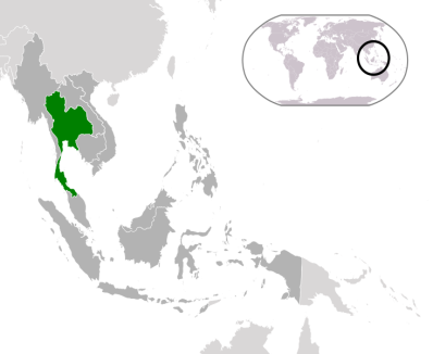 Thailand in the SEA Region