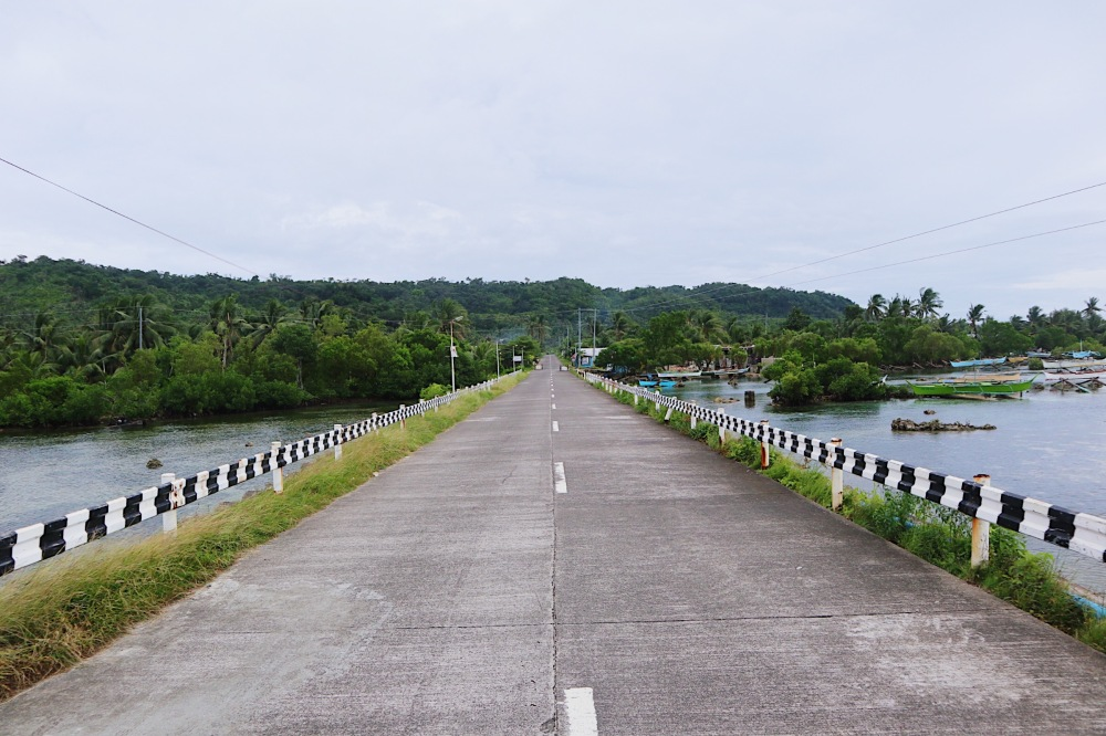 The Road to Calicoan Island