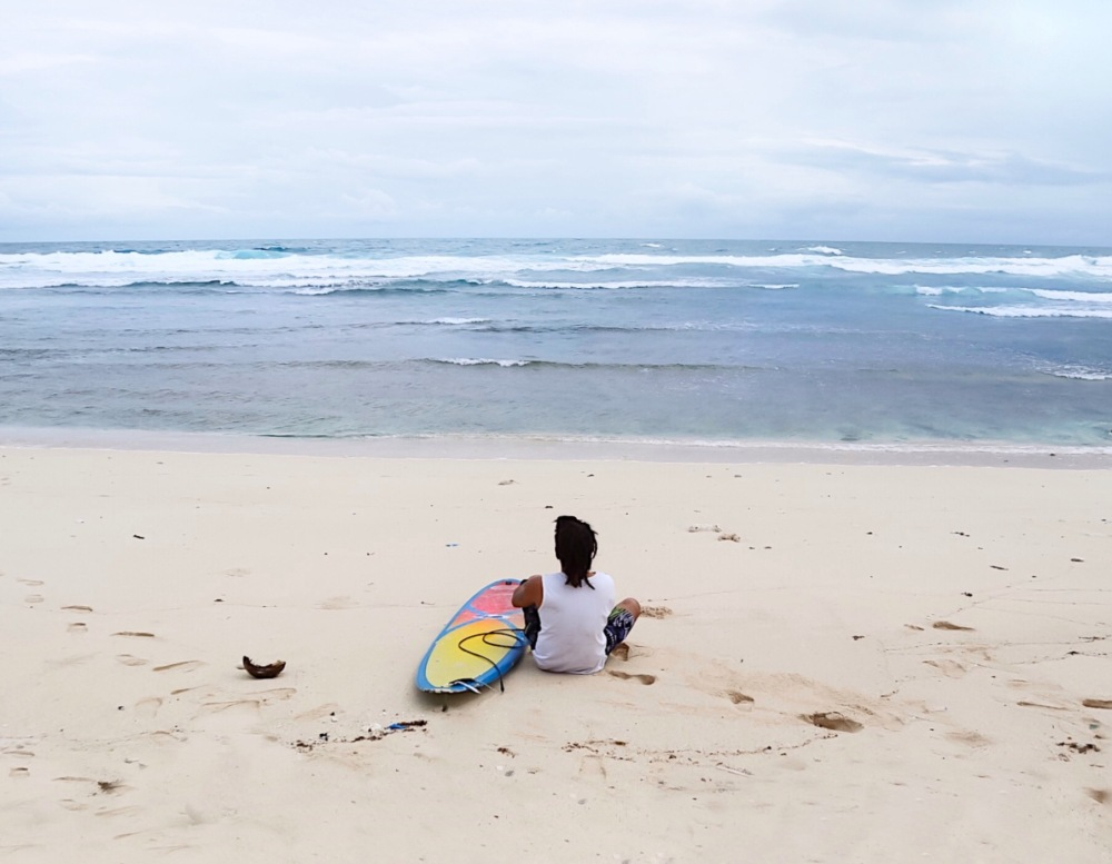 The ABCD Beach is perfect for surfers.