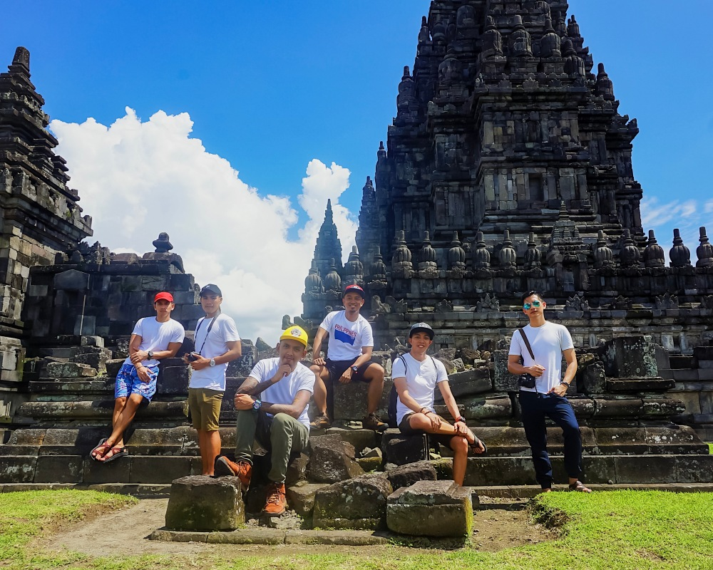 THE SHEMBOT SQUAD IN PRAMBANAN.