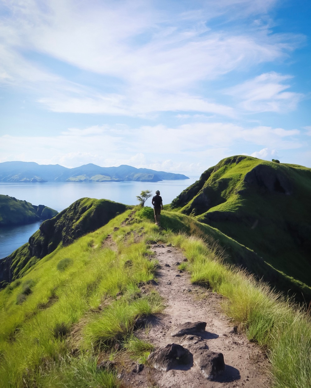 ON TOP OF PADAR.
