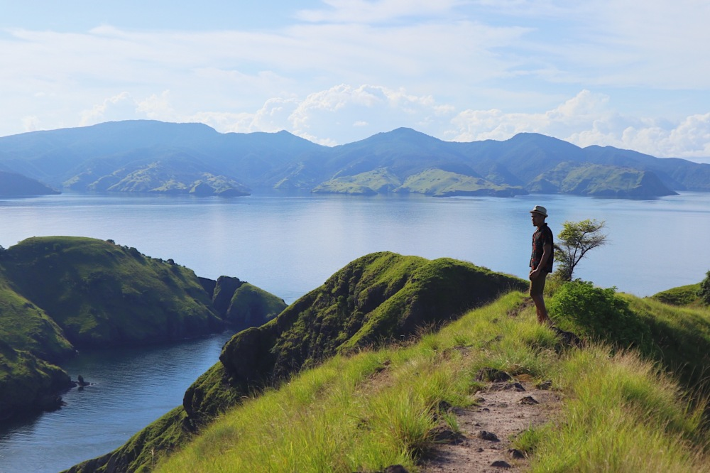 DAYDREAMING AT THE TOP OF PULAU PADAR.
