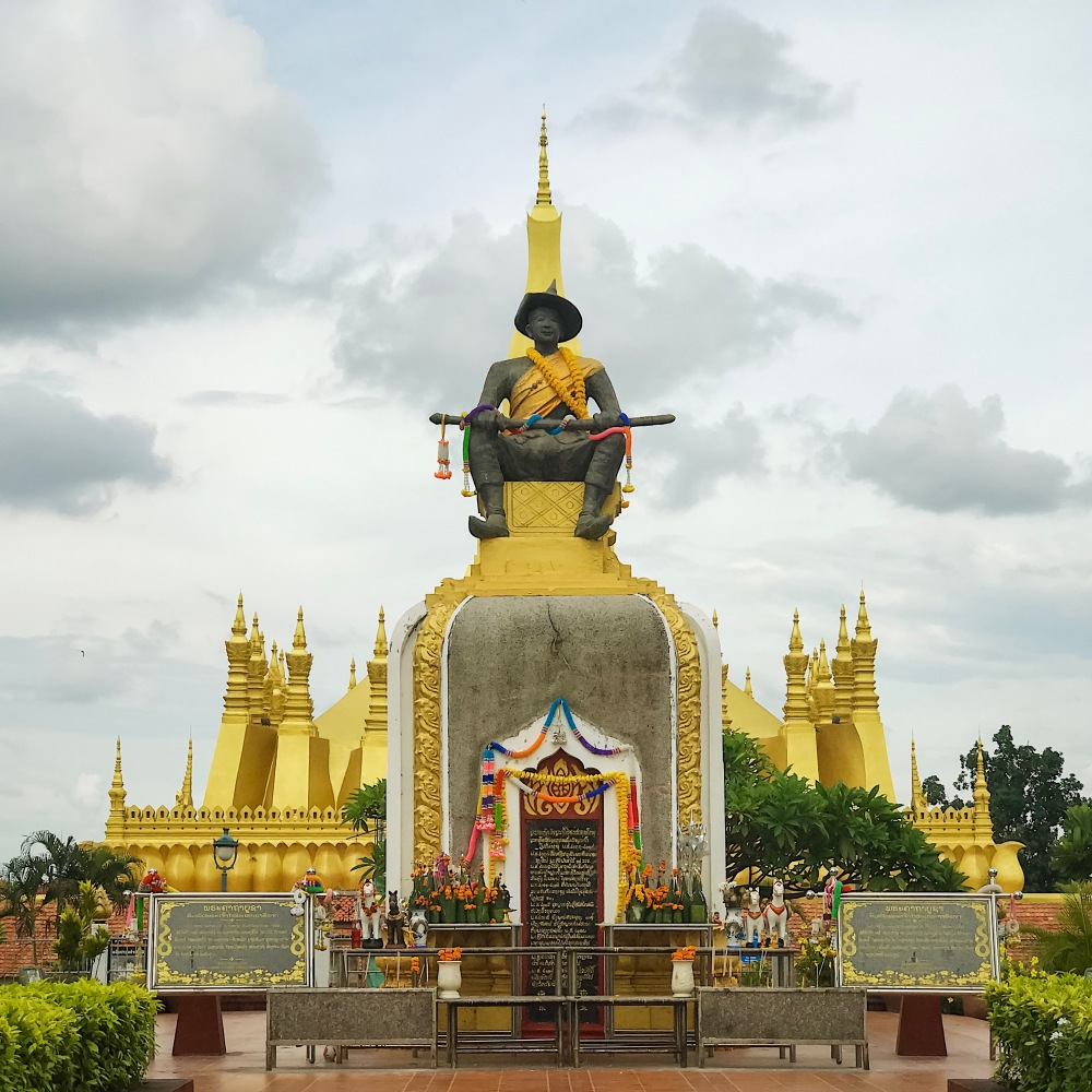 Statue of King Setthtathirat