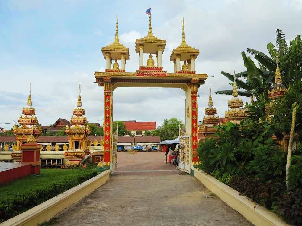 ENTRANCE TO THE RECLINING BUDDHA