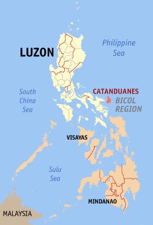 Catanduanes Map