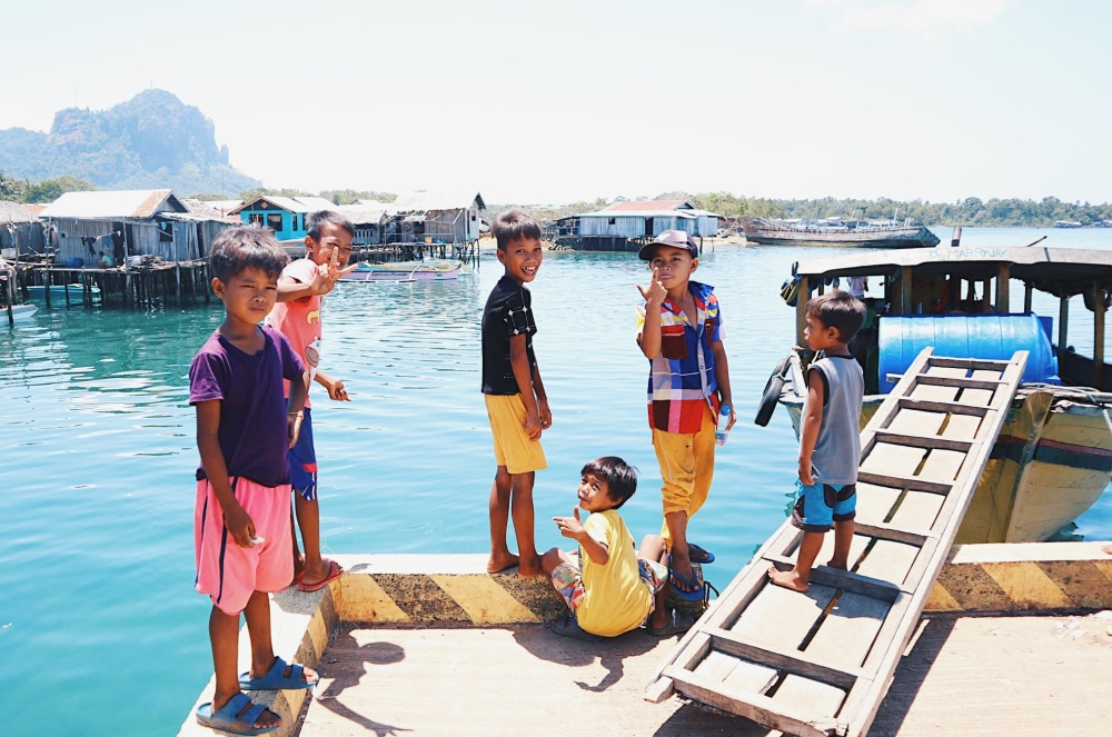 BAJAU CHILDREN