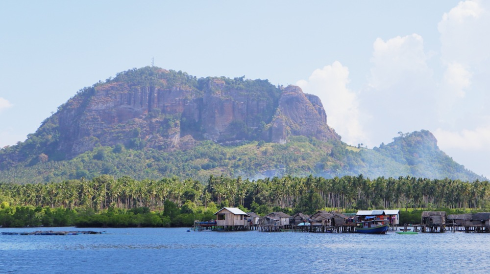 VIEW OF BUD BONGAO