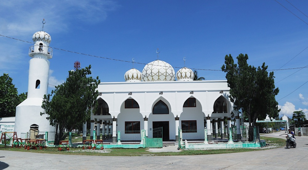 THE OLDEST MOSQUE IN THE PHILIPPINES.