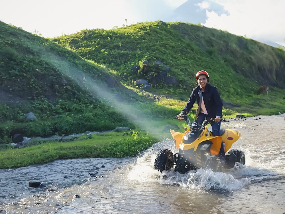ATV ADVENTURE. To have a great experience in Albay, you gotta try their ATV adventure!