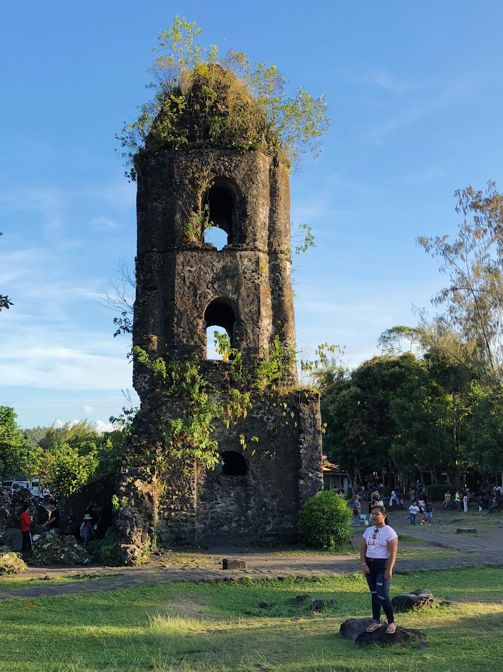 CAGSAWA RUINS. Probably the most visited place to have a good view of Mt. Mayon is the Cagsawa Ruins.