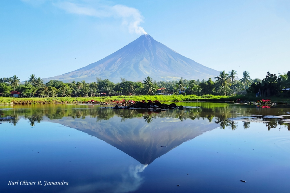 MT. MAYON in all its perfect symmetry