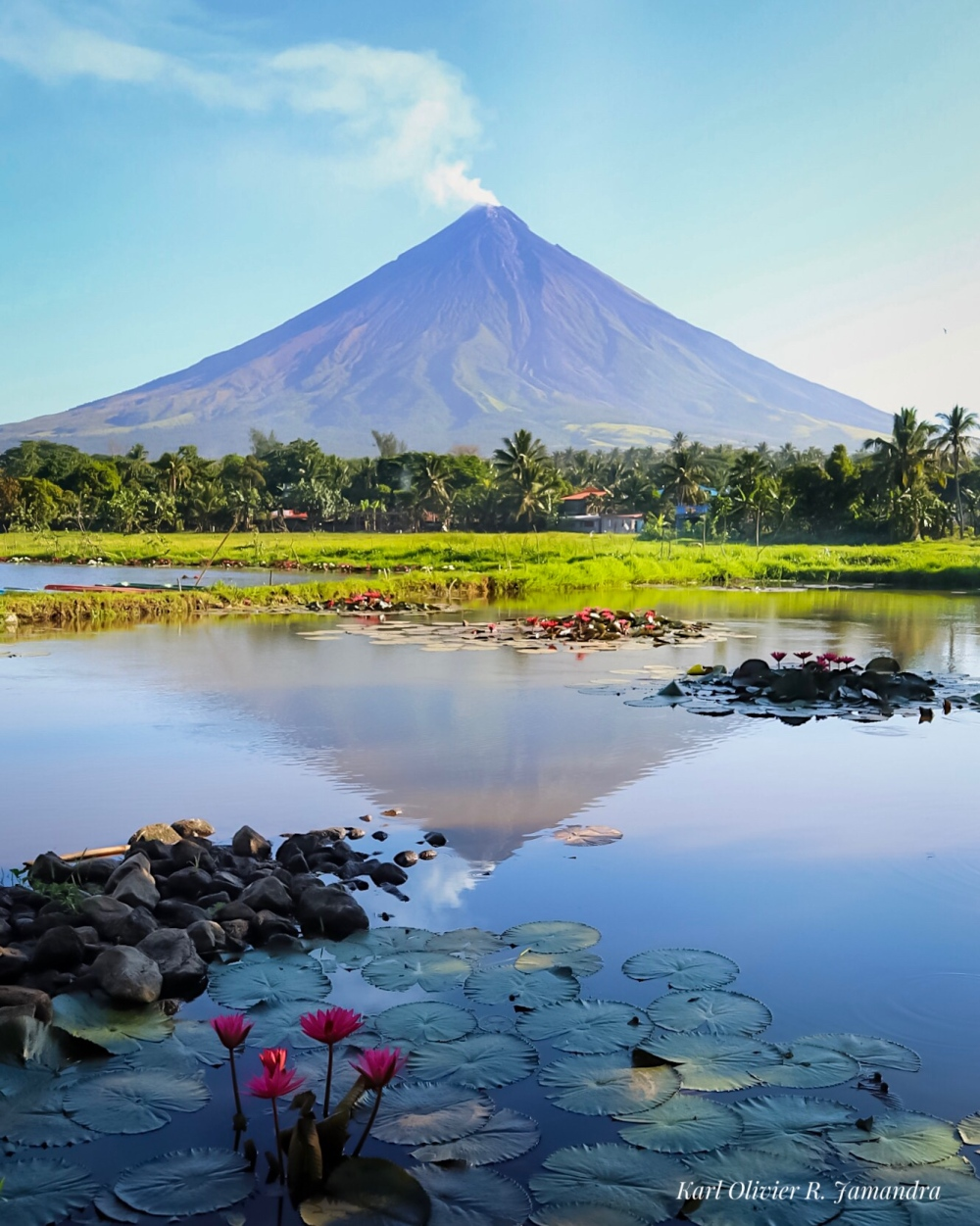 Mt. Mayon is a must-see travel destination in Bicolandia.
