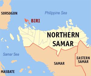 MAP OF BIRI