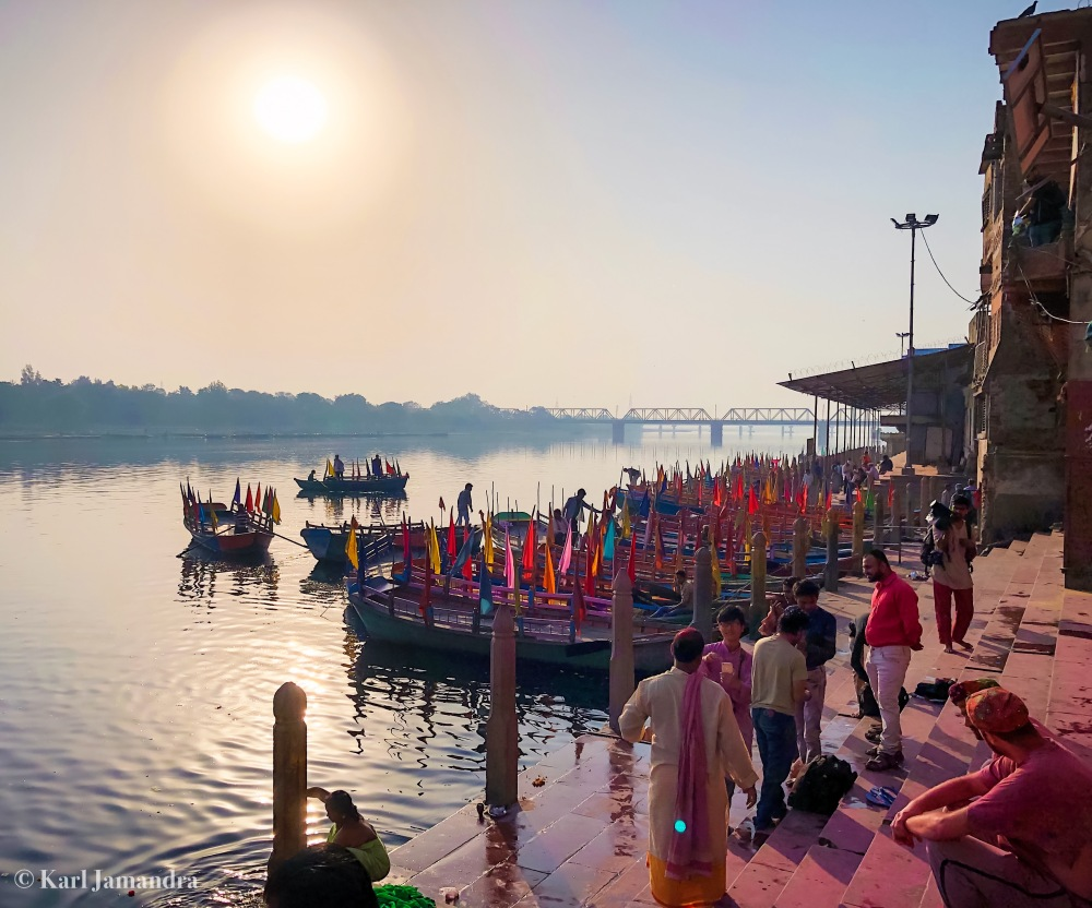VARIOUS ACTIVITIES IN YAMUNA RIVER