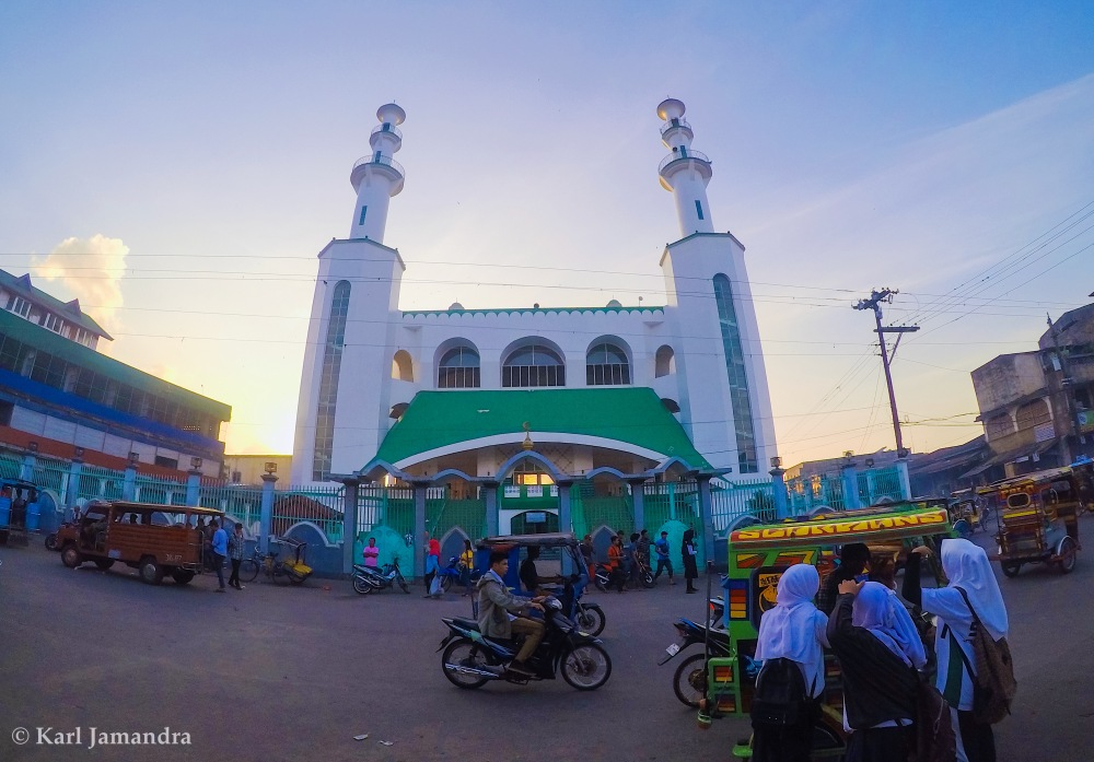 MASJID TULAY AT SUNSET.
