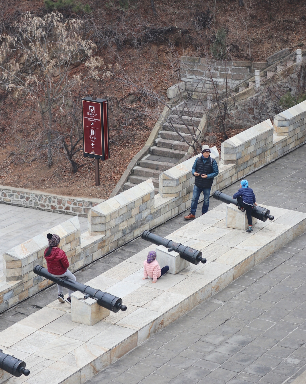 BRINGING YOUR FAMILY IN THE GREAT WALL?